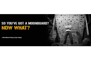 So you've got your own MoonBoard... Now what?
