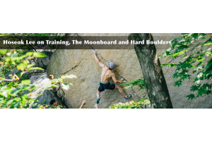 Hoseok Lee on Training, The Moonboard and Hard Boulders
