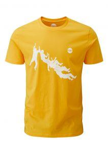 Men's Climber Graphic T-Shirt Gold