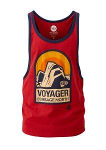 Men's Voyager Racer Vest True Red