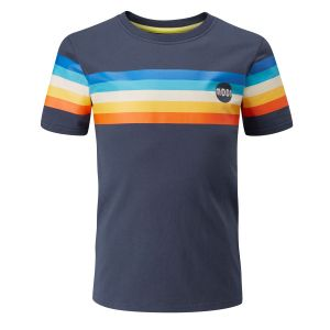 Half Moon Retro Stripe T-Shirt