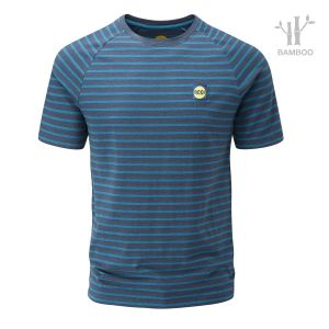 Striped Bamboo Tech T-Shirt