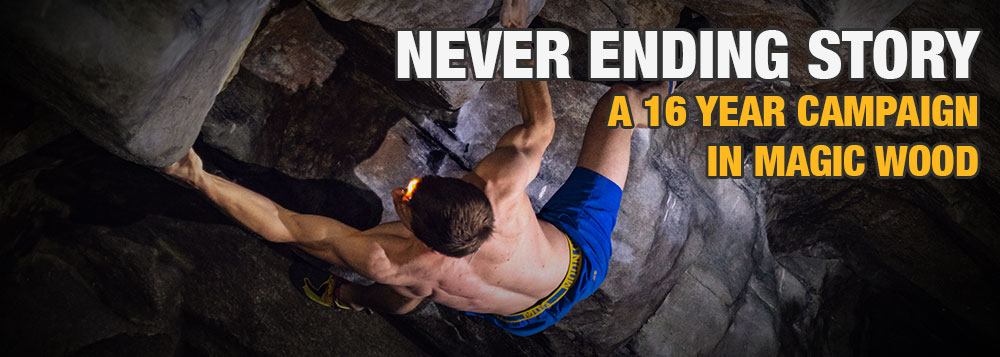 A 16 Year Campaign - Climbing Never Ending Story 8B+