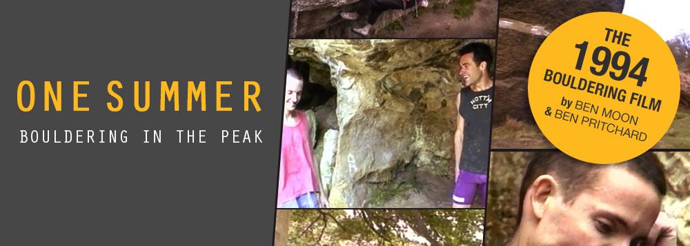 FILM: One Summer - Bouldering In The Peak