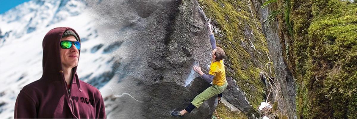 First Ascent of the Sitdown-Start to 'Heritage, 8B/+' Valle Bavona, Switzerland by Martin Keller