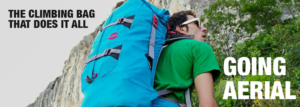 Aerial Pack - The Climbing Bag That Does it All