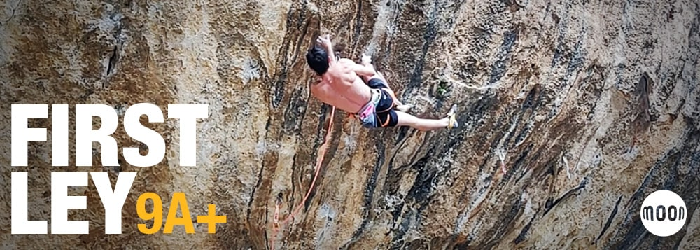 VIDEO: Buster Martin climbs First Ley 9a+