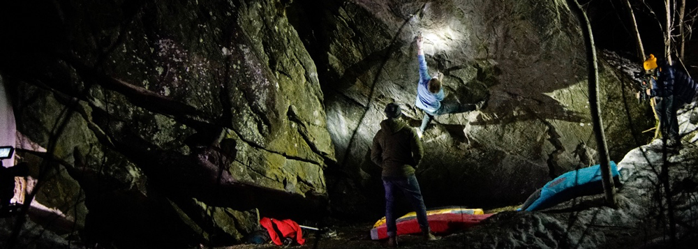 Dave Fitzgerald vs The Lady in Black 8b+