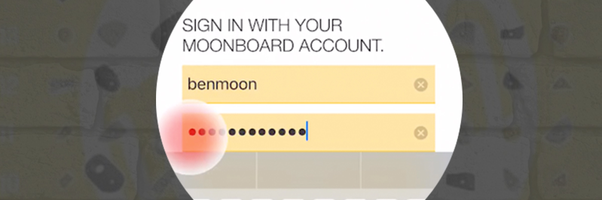 MoonBoard App - How to register and set up your MoonBoard App
