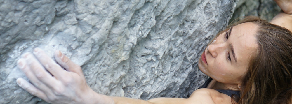 Kajsa Rosen Climbs First Ascent in Stockholm