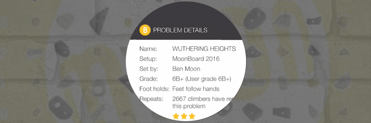 MoonBoard App - How to View Problems