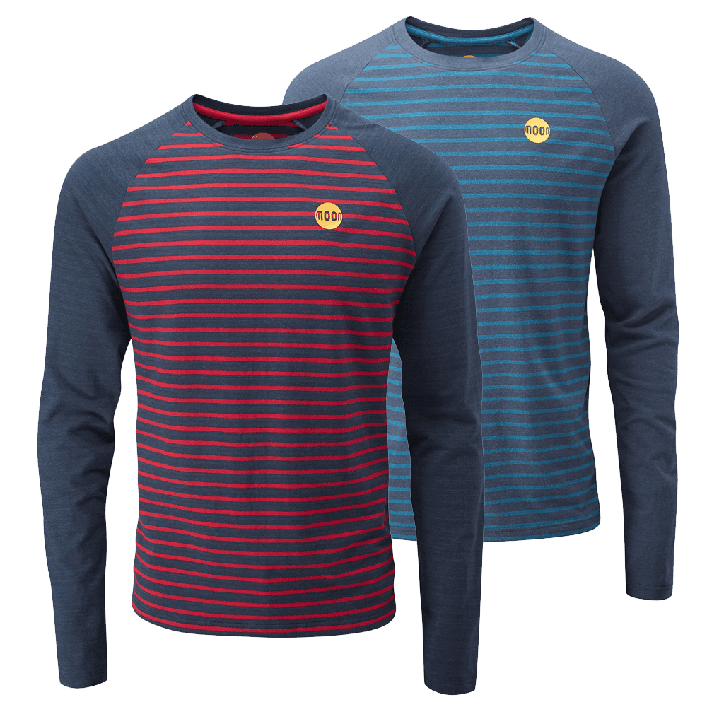 Bamboo Striped Long Sleeve T-Shirts
