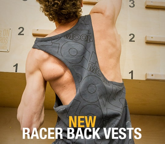 Men's Racer Back Vests