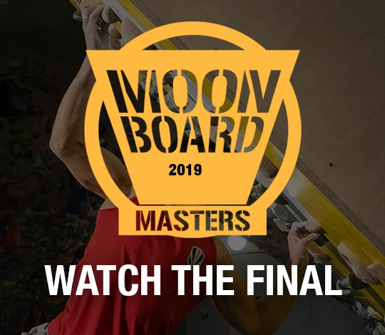 Watch the MoonBoard Masters final
