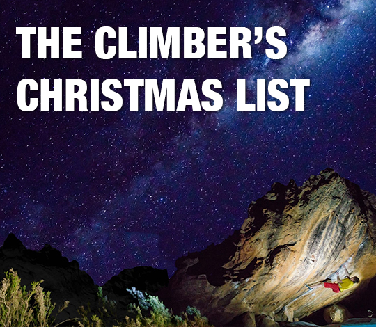 The Climber Christmas List